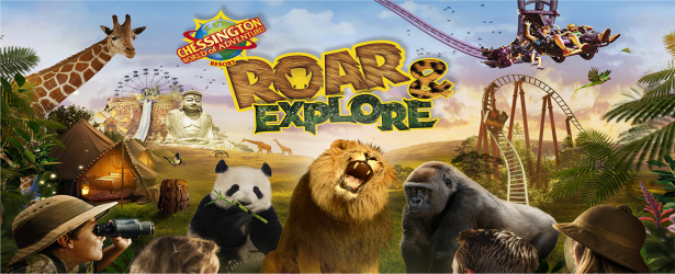 Roar & Explore at Chessington in 2016